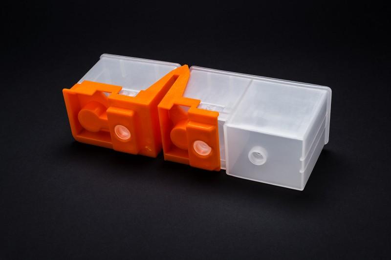 Plastikteile schwarz 164